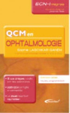 QCM en ophtalmologie - medicilline - 9782915220537