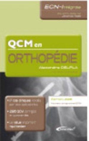 QCM en orthopédie - medicilline - 9782915220551