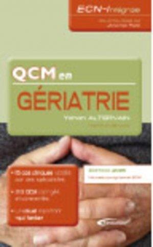 QCM en Gériatrie - medicilline - 9782915220568 -