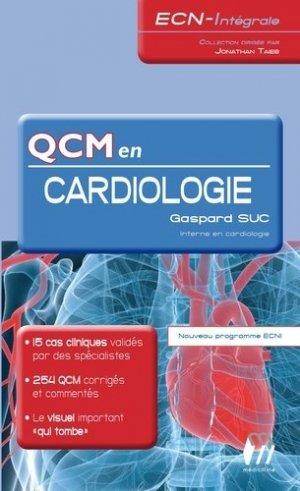 QCM en Cardiologie - medicilline - 9782915220865 -