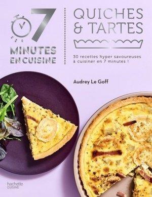 Quiches & tartes - Hachette - 9782017020714 -