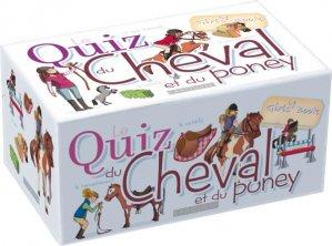 Quiz du cheval et du poney - larousse - 9782035883445 -