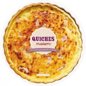 Quiches maison - Larousse - 9782035895516 -