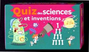 Quiz des sciences et inventions - larousse - 9782035961532