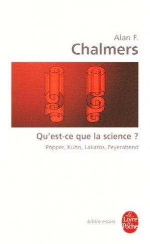 Qu'est-ce que la science ? - le livre de poche - 9782253055068 -