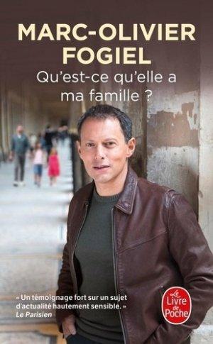 Qu'est-ce qu'elle a ma famille ? - le livre de poche - lgf librairie generale francaise - 9782253820291 -