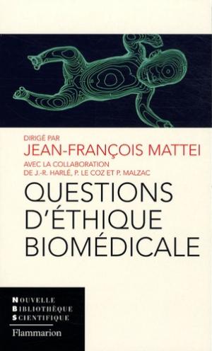 Questions d'éthique biomédicale - lavoisier msp - 9782257000613 -