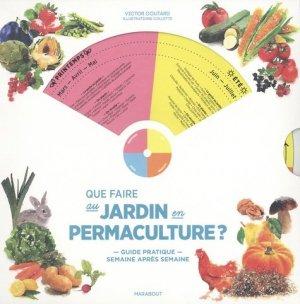 Que faire au jardin en permaculture ? - marabout - 9782501147606 -