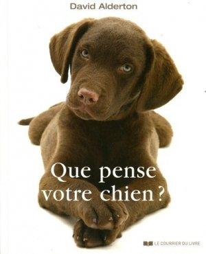 Que pense votre chien ? - le courrier du livre - 9782702912874 -