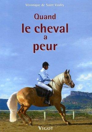Quand le cheval a peur - vigot - 9782711417995 -