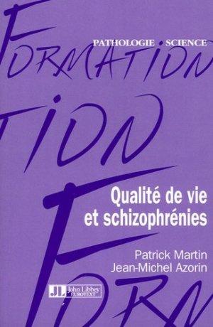 Qualité de vie et schizophrénies - john libbey eurotext - 9782742004850 -