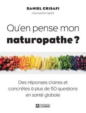 Qu'en pense mon naturopathe ? - de l'homme - 9782761948661