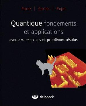 Quantique, fondements et applications - de boeck superieur - 9782804107789 -