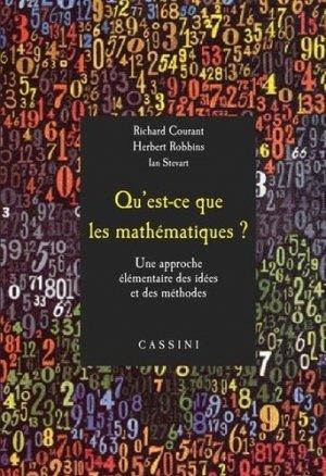 Qu'est-ce que les mathématiques ? - cassini - 9782842252045 -