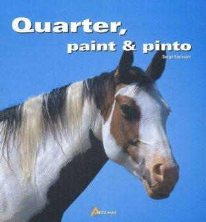 Quarter paint et pinto - artemis - 9782844163479 -