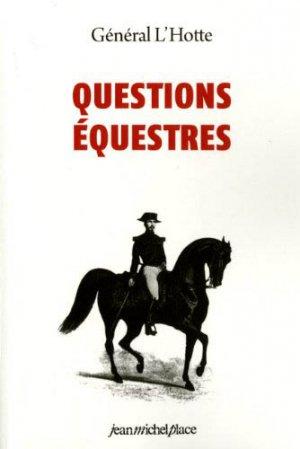 Questions équestres - jean michel place - 9782858931514 -