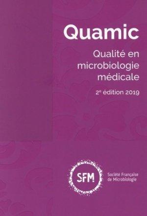 Quamic 2019 - societe francaise de microbiologie - 9782878050387