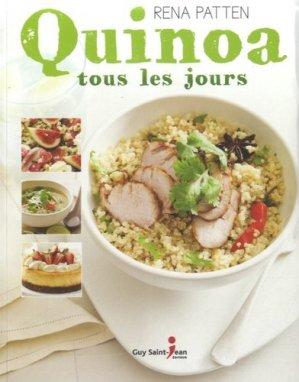 Quinoa tous les jours - guy saint jean  - 9782894557341 -