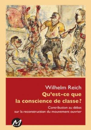 Qu'est-ce que la conscience de classe ? Contribution au débat sur la reconstruction du mouvement ouvrier - M Editeur - 9782924327845 -