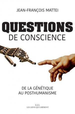 Questions de conscience - les liens qui liberent - 9791020905499 -
