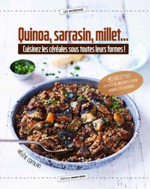 Quinoa, sarrasin, millet... - marie claire - 9791032303665 -