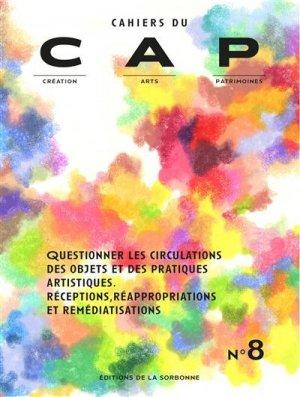 Questionner les circulations des objets et des pratiques artistiques - publications de la sorbonne - 9791035105969 -