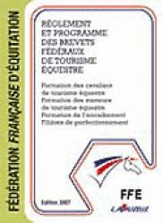 Réglement et programme des brevets fédéraux de tourisme équestre - lavauzelle - 9782702503034 -