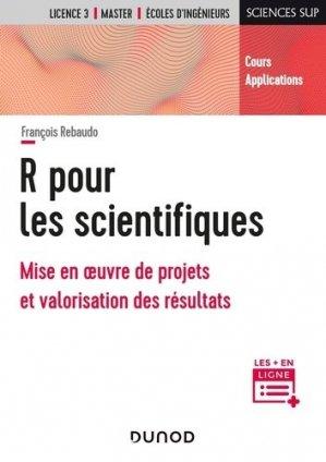 R pour les scientifiques - Dunod - 9782100815470 -