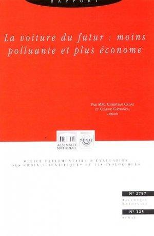 Rapport sur la définition et les implications du concept de voiture propre - la documentation francaise - 9782111137912 -