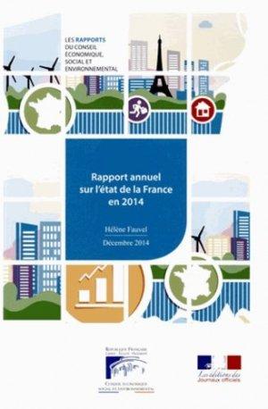 Rapport annuel sur l'état de la France en 2014 - La Documentation Française - 9782111386525 -