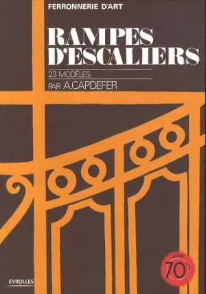 Rampes d'escaliers - eyrolles - 9782212129021 -