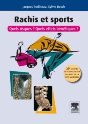 Rachis et sports - elsevier / masson - 9782294715884