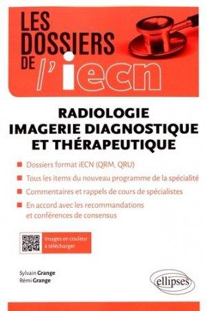 Radiologie, imagerie diagnostique et thérapeutique - ellipses - 9782340016293 -