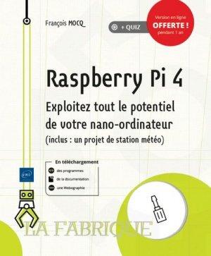 Raspberry Pi 4 - eni - 9782409022081 -