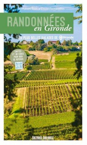 Randonnées en Gironde - sud ouest - 9782817705569