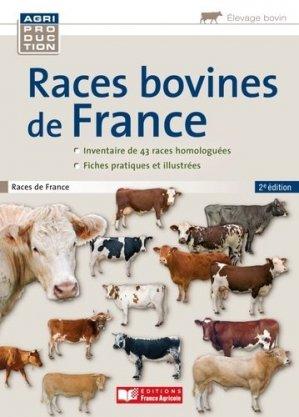 Races bovines de France - france agricole - 9782855572420 -