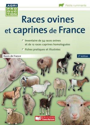 Races ovines et caprines françaises - france agricole - 9782855573762 -