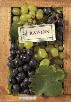 Raisins - plume de carotte - 9782915810721 -