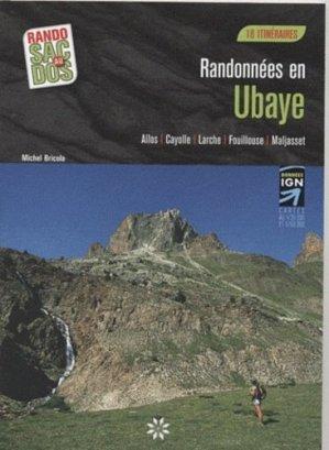 Randonnées en Ubaye - Trois Châteaux Editions - 9782918044062 -