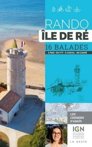 Rando Île de Ré - geste - 9791035302818 -