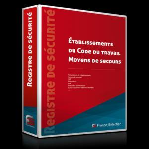 Registre de sécurité Établissements du Code du travail - Moyens de secours - france selection - 2224586423680 -