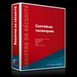 Registre des contrôles techniques de sécurité - france selection - 9782852662315 -