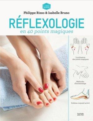 Réflexologie anti-stress en 40 points magiques - hachette  - 9782012045910 -