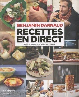 Recettes en direct - Hachette - 9782012381254 -