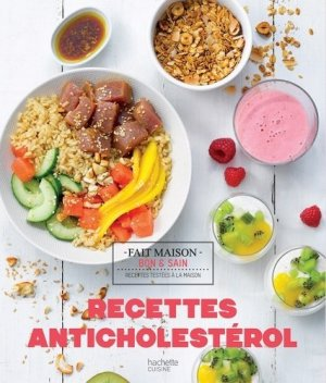 Recettes anticholestérol - hachette - 9782016268926 -