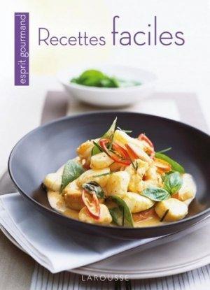 Recettes faciles - Larousse - 9782035849854 -