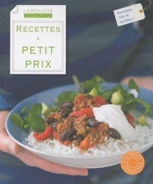 Recettes à petits prix - Larousse - 9782035851185 - majbook ème édition, majbook 1ère édition, livre ecn major, livre ecn, fiche ecn