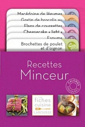 Recettes minceur - Larousse - 9782035859433 -