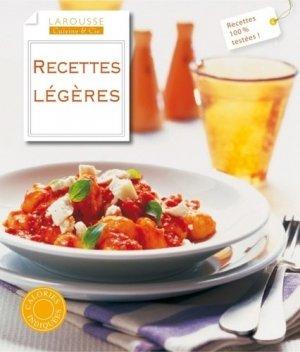 Recettes légères - Larousse - 9782035864970 -