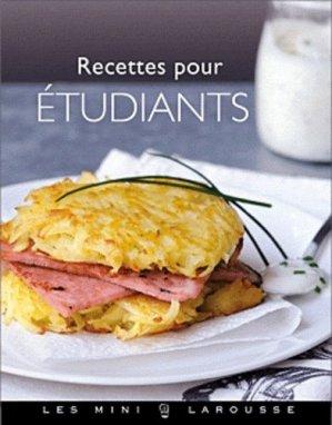 Recettes pour étudiants - Larousse - 9782035865311 -